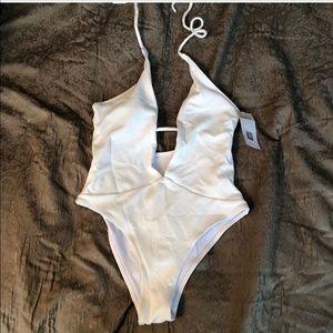 Zaful White Swimsuit